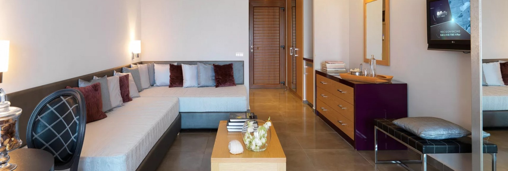 Olympion sunset double room